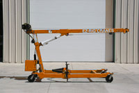 construction cranes, small, portable equipment for jobsite lifting